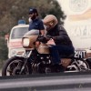Glen Nickleberry Kawasaki GPZ-550 black drag racer
