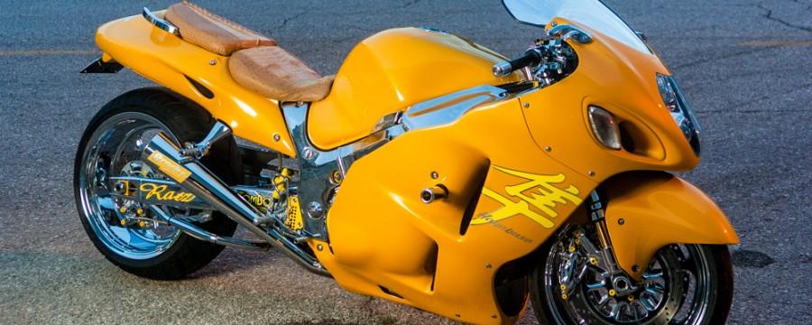 Tombo Racing Hayabusa downtown Oklahoma City